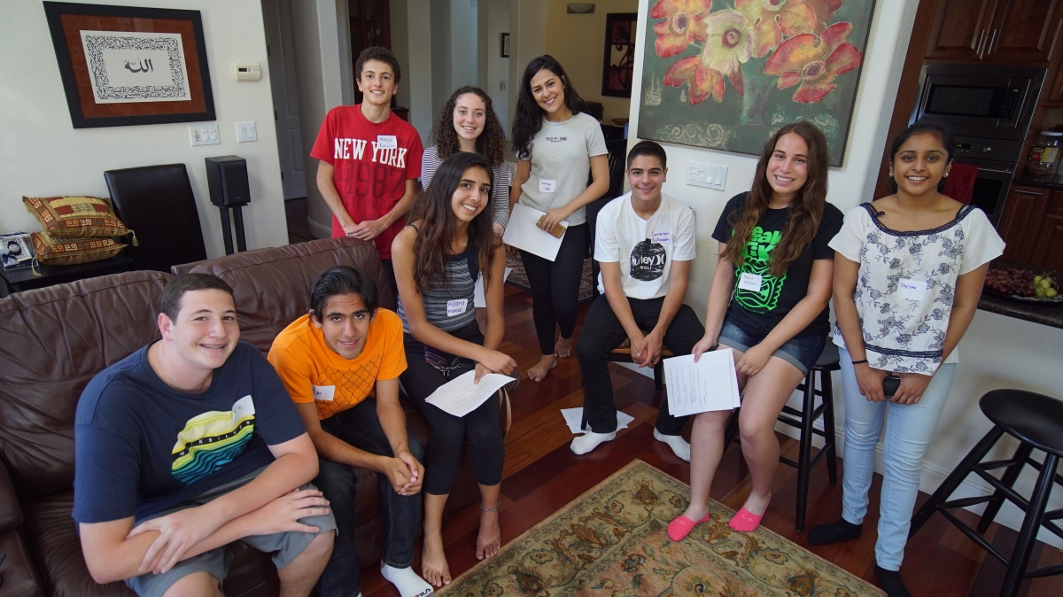 Teen Interfaith Council's First Meeting!